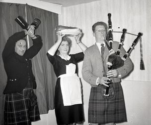 Burns Night - Celebrations across North Cumbria over the years