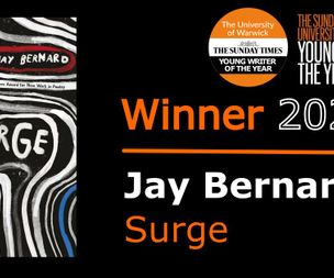 Jay Bernard wins Young Writer of the Year Award