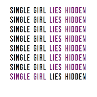 Natalie Moores - Single Girl lies Hidden, Wordsmithhq
