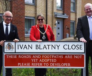 New road opened in Ipswich named after 'forgotten' Czech poet