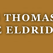 RS Thomas and ME Eldridge Society