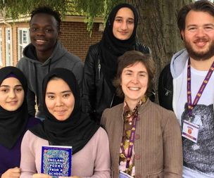 Refugee poets awarded high-profile Oxfordshire award for work