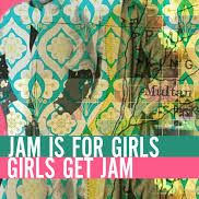 Shagufta K Iqbal - Jam is for Girls, Girls get Jam, Burning Eye