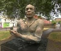 Statue of black poet Alfred Fagon feared attacked with bleach