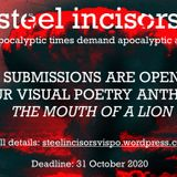 Steel Incisors Visual Poetry Anthology - October 31st