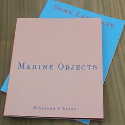 Suzanne Evans - Marine Objects, Guillemot Press