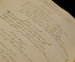 The book of love -  400-year-old tome of John Donne's poems is unveile
