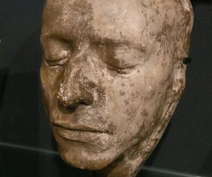 Writ in water, preserved in plaster - how Keats' death mask became a c