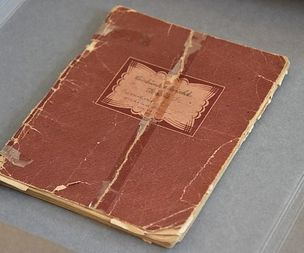 Poetry penned by Auschwitz returned to Museum