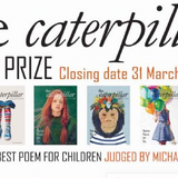 the caterpillar poetry prize - March 31st